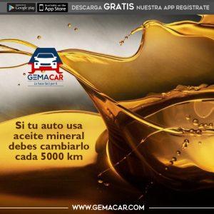 cada cuántos kilómetros cambiar el aceite