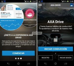 Axa Drive aplicación para conducir