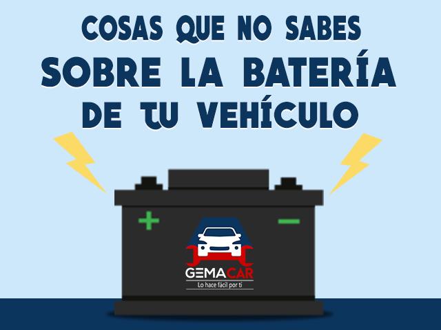Baterías para auto - Claves para no quedarte sin carga