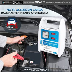 Mantenimiento baterías para auto