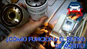 como funciona el filtro de aceite