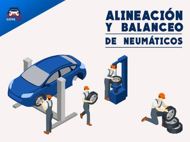 Alineación y Balanceo! Servicio Clave para que tus llantas duren y ahorrar dinero